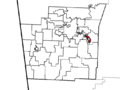 Elkins Township, Washington County, Arkansas.png