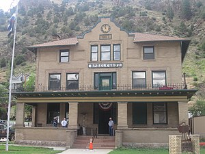 Benevolent and Protective Order of Elks - Another Elks building in Idaho Springs, Colorado