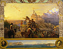 Emanuel Gottlieb Leutze - Westward the Course of Empire Takes Its Way (mural study, U.S. Capitol) - Google Art Project.jpg