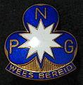 Emblem of Het Nederlandse Padvindstersgilde Wees Bereid (NPG) Dutch Scouting.JPG
