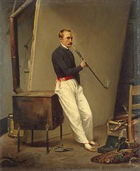 Horace Vernet: Self-Portrait