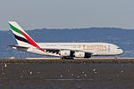 Emirates Airbus A380-861 A6-EEU (16859731961).jpg