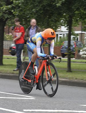Sweden at the 2012 Summer Olympics - Emma Johansson in women's road time trial.