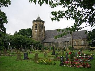 Shelley, West Yorkshire - Emmanuel Church, Shelley. Designed by Henry Mallinson and William Swinden Barber 1865–1869
