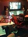Emmanuel Zidya during a break in Studio 18 on 3 Nov 2017.jpg