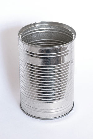 Cylinder - An empty tin can