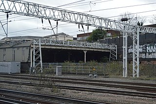 Euston Downside Carriage Maintenance Depot