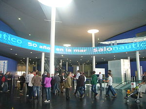 Entrada al Saló Nàutic Internacional de Barcelona 2011.JPG