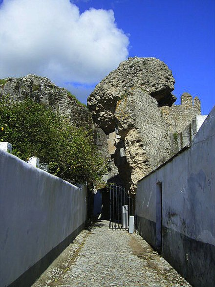 Castle of Serpa:entrance
