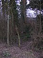 Entrance to Footpath - geograph.org.uk - 379567.jpg