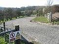 Entrance to MOD training area - geograph.org.uk - 363685.jpg