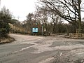 Entrance to Moore Nature Reserve - geograph.org.uk - 1705785.jpg