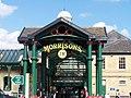 Entrance to Morrison's Supermarket, Hillsborough Barracks - geograph.org.uk - 747213.jpg
