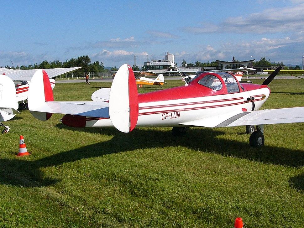 Erco 415-CDX Ercoupe Owner-maintenance CF-LUN 02