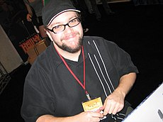 Eric Powell at Wondercon 2006.jpg