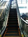 Escalator in YVR food court.JPG