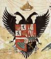 Escudo de Carlos V en el planisferio de Juan Vespucci de 1526.png