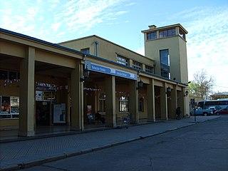 Estación Chillán railway station in Chile