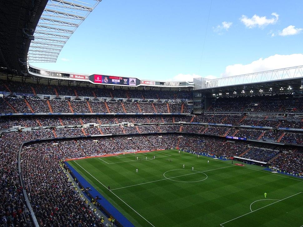 Estadio Santiago Bernabéu (2016)