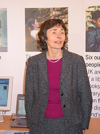 Department for Education and Skills (United Kingdom) - Image: Estelle Morris at the PAS report launch