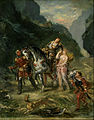 Eugène Delacroix - Angelica and the wounded Medoro - Google Art Project.jpg