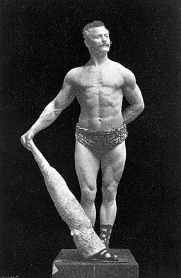 "Eugen Sandow, ""Body Building"" Wellcome L0026308"