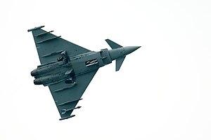 Eurofighter Typhoon from Italain Stormo 4 duri...