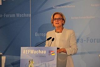 Johanna Mikl-Leitner Austrian politician (ÖVP), former Member of National Council of Austria and former Federal Interior Minister of Austria