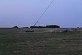 Europe1 Mast3 zweitoberste Pardunenabspannung 12092016.JPG