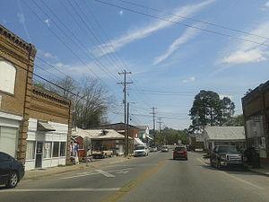 Eutawville, South Carolina - Central Eutawville in April, 2015