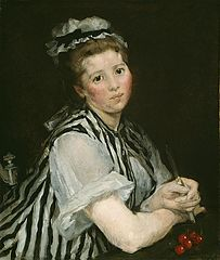 Girl with Cherries