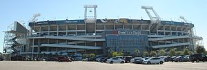 EverBank Field - Image: Ever Bank Field 2014