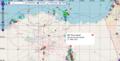 Ever Given - Havarie im Suez-Kanal 23-3-2021 OpenSeaMap.png