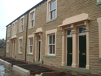 English: Every Street Renovated Terraced House...