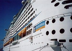 MS Explorer of the Seas - Image: Explorer Port Side