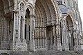 Exterior of Cathédrale Notre-Dame de Chartres 12.jpg