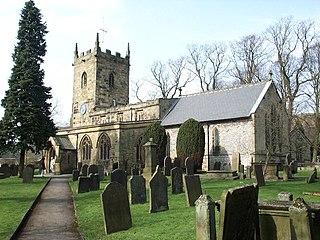 Eyam village and civil parish in Derbyshire Dales district, Derbyshire, England
