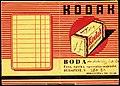 Fénykép boríték 1941, BODA fotó, optika speciális szaküzlet. Fortepan 81503.jpg