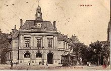 20e arrondissement de paris wikip dia - Piscine des tourelles porte des lilas ...