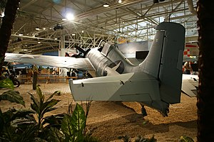 F4F-3 Wildcat (BuNo 12296) rear view.jpg