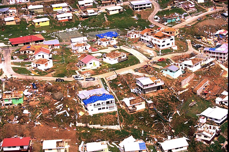 FEMA - 3094 - Photograph by FEMA News Photo taken on 09-25-1995 in US Virgin Islands
