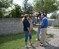 FEMA - 37608 - FEMA public affairs officer speaks to a local tv station in Texas.jpg