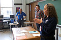 FEMA - 43960 - Caridad Martinez talks about the FEMA registration process to residents in New Jersey.jpg