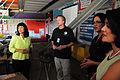 FEMA - 44660 - FEMA representative inspecing a damaged school in California.jpg