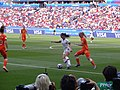FIFA Women's World Cup 2019 Final - Alex Morgan with ball in penalty area (3).jpg