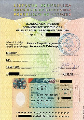 Schengen Area - Facilitated Rail Transit Document