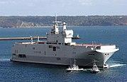 Bâtiment de Projection et de Commandement (BPC) Mistral, French Navy