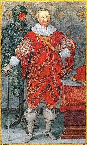 F Brentel - Graf Friedrich von Solms-Rödelheim Gouache 1629 (RdSW.C63)