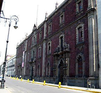 San Ildefonso College - The Bolivar Amphitheater entrance, now main entrance to museum