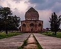 Facade and Entrance of Asif Khan Mosque.jpg